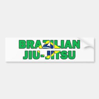 Brasilianska Jiu Jitsu Bildekal