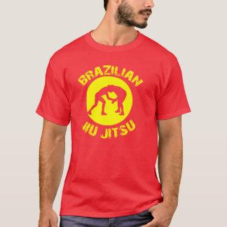 Brasilianska Jiu Jitsu - Grapplers OvalT-tröja Tee Shirt