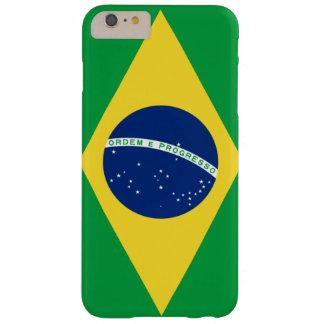 Brasilianskt flaggatelefonfodral barely there iPhone 6 plus fodral