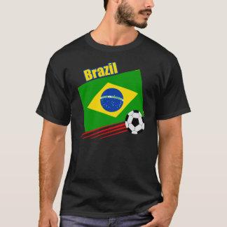 Brasilianskt fotbolllag t-shirt