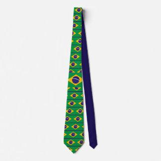Brasilien: Flagga av Brasilien Slips