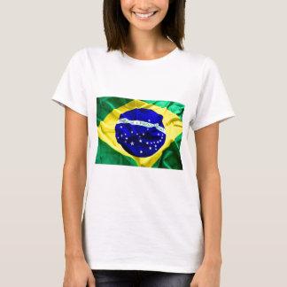 Brasilien-flagga T Shirt