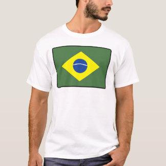 Brasilien flaggamanar & kvinnor tröjor