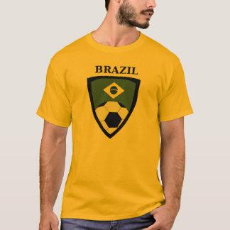 Brasilien flaggamusik noter t-shirts