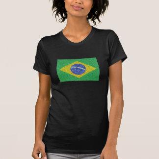 Brasilien flaggaVan Gogh stil T-shirt