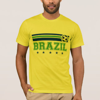 Brasilien fotboll t-shirt