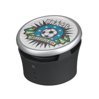 Brasilien fotbollbristning bluetooth speaker