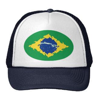 Brasilien Gnarly flaggahatt Mesh Kepsar