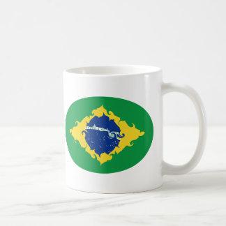Brasilien Gnarly flaggamugg Kaffe Kopp