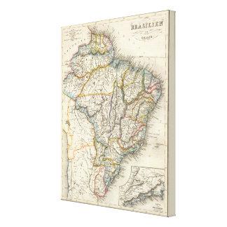 Brasilien Guiana, South America Canvastryck