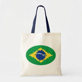 Brasilien hänger lös den Gnarly flagga Kassar