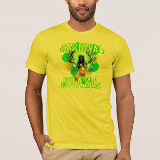 Brasilien karneval tee shirt
