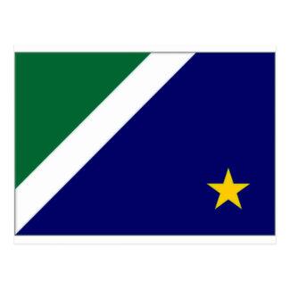 Brasilien Mato Grosso Do Sul flagga Vykort