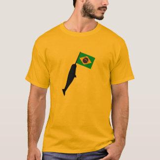 Brasilien Narwhal T-shirt