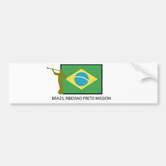 Brasilien Ribeirao Preto beskickning LDS Bildekal