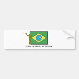 BRASILIEN SAO PAULO ÖSTLIG BESKICKNING LDS BILDEKAL