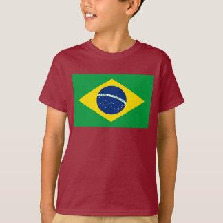 Brasilien världsflagga tee shirts