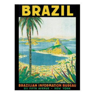 Brasilien vintage resoraffisch vykort