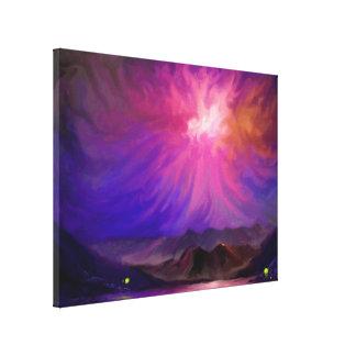 Brasor på solnedgången - Digital konstkanfas 18x24 Kanvasdukar Med Gallerikvalitet