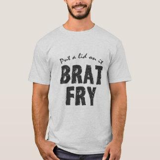 Bratsmåfisktshirt: BRATSMÅFISK - sätt ett lock på T Shirt