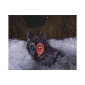 Bravewolf kanvastryck