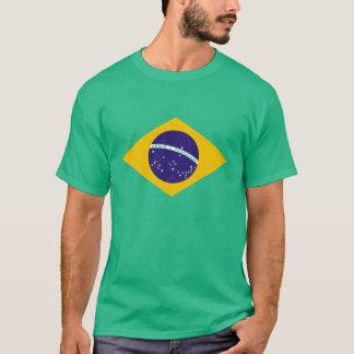 brazil flagga tee shirt
