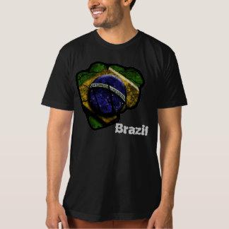 brazil flagganäve tee