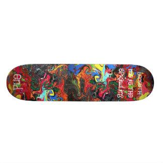 Breda ut sig avslutar old school skateboard bräda 21,6 cm