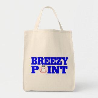 Breezy peka livsmedeltotot i rosor mat tygkasse