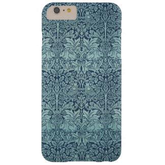 Brer för vintagetextilmönster kanin William Morris Barely There iPhone 6 Plus Skal
