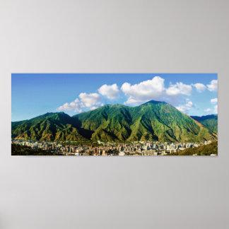 brett panorama- beskådar av Avila nationalpark-2:1 Poster