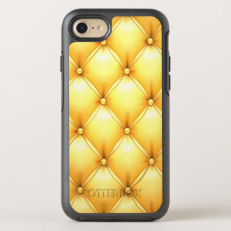 Brett smör på knäppas Tuftläder för Popcorn gult OtterBox Symmetry iPhone 7 Skal