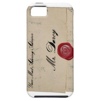 Brev för Herr Darcy regenskapEra iPhone 5 Fodraler