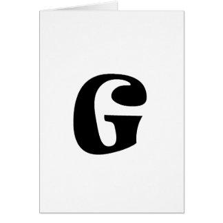 Brev G_large Hälsningskort