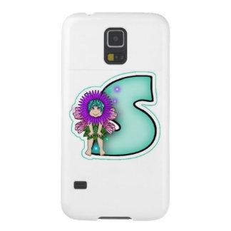 Brev S för gullig fe för Samsung galaxNexus Galaxy S5 Fodral