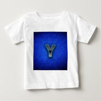 Brev Y - neonblåttupplaga T Shirt