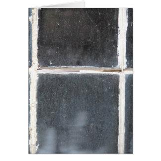 BrevHet som göras av ett fönster OBS Kort