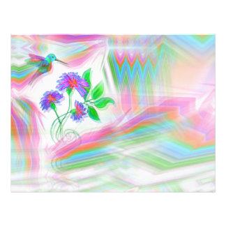 Brevhuvud för HummingbirdflygKaleidoscope