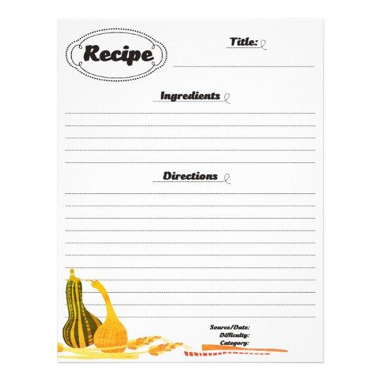 Brevhuvud för recept för maträtt för sida för