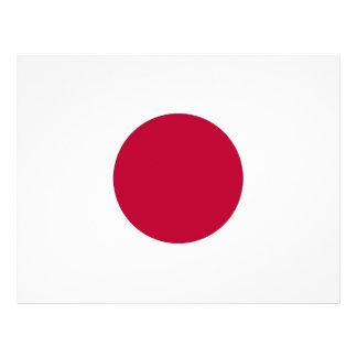 Brevhuvud med flagga av Japan