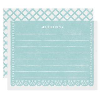 Brevpapper för papperssnittbaner - bassäng 10,8 x 14 cm inbjudningskort