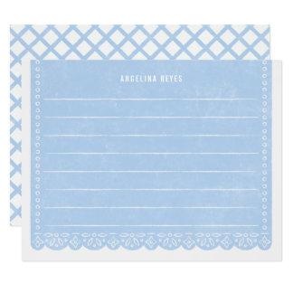 Brevpapper för papperssnittbaner - himmel 10,8 x 14 cm inbjudningskort
