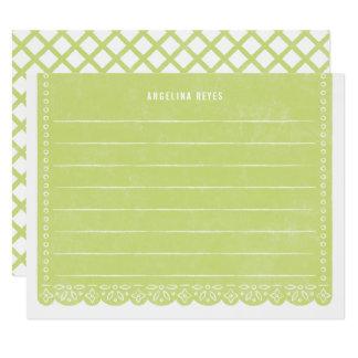 Brevpapper för papperssnittbaner - nyckel- 10,8 x 14 cm inbjudningskort