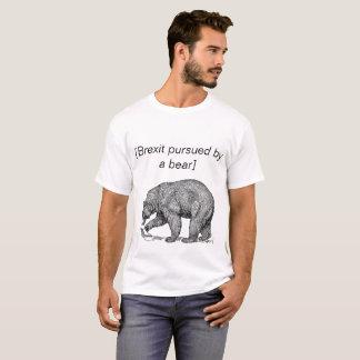 Brexit förfölde vid en björn tee shirt