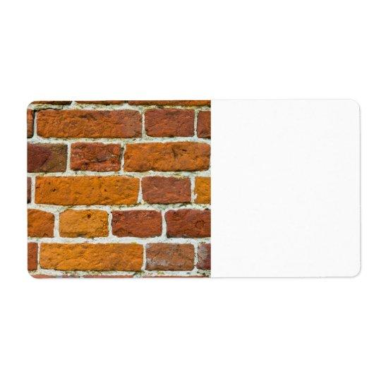 Brickwall Fraktsedel