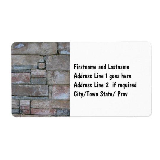 Brickwork för mason- eller tegelstenlagrar fraktsedel