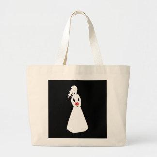 Bridal Silhouette II Tote Bag