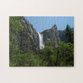 Bridalveil nedgångar på den Yosemite Pussel