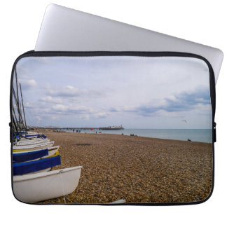 Brighton strand, England Laptop Sleeve