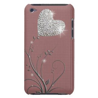 Briljant älskvärd design för hjärta iPod Case-Mate fodral